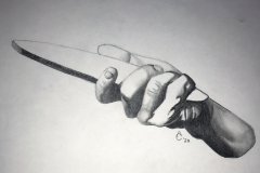 Addison Csikos_2_Hand Holding Wedge