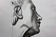 Addison Csikos_4_Side Profile Portrait