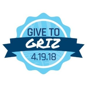2018 Give to GRIZ Logo