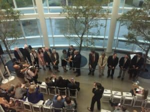 Franklin College Science Center Ribbon Cutting