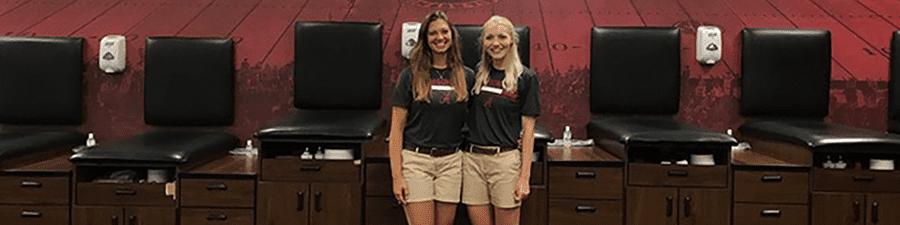 MSAT 2 females at Alabama