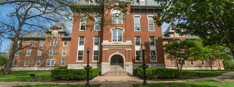 Old Main entrance